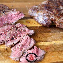 Saftige Fledermaus Steaks vom Grill